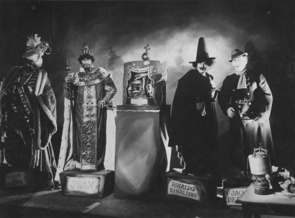 Le Cabinet des figures de cire, réalisé par par Paul Leni, 1924