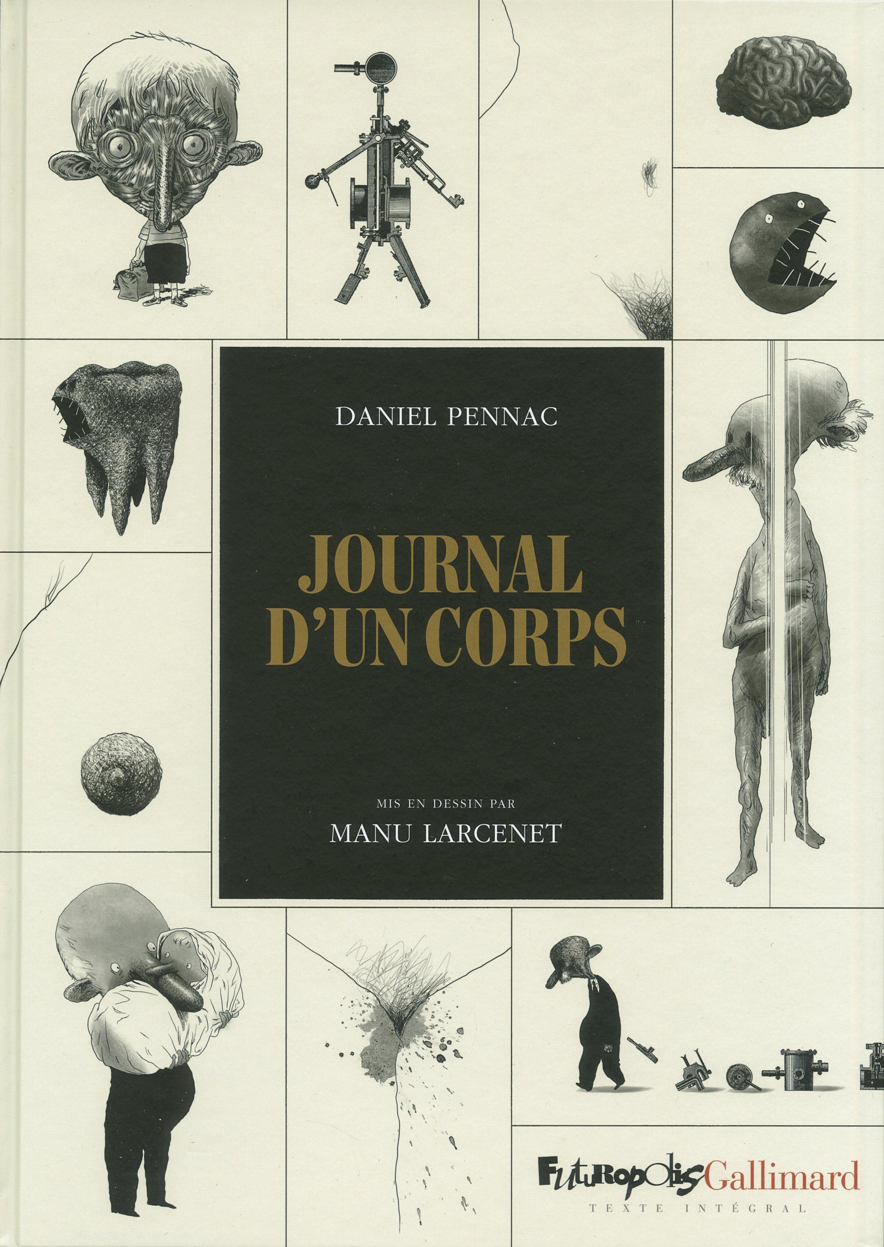 Journal d'un corps Couverture du livre