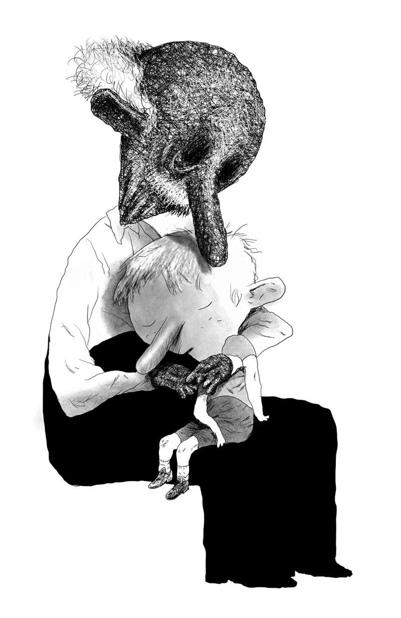 Journal d'un corps de Daniel Pennac, illustré par Manu Larcenet (Éditions Futuropolis)