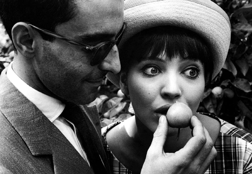 Robert Lebeck Jean-Luc Godard Anna Karina Berlin 1961