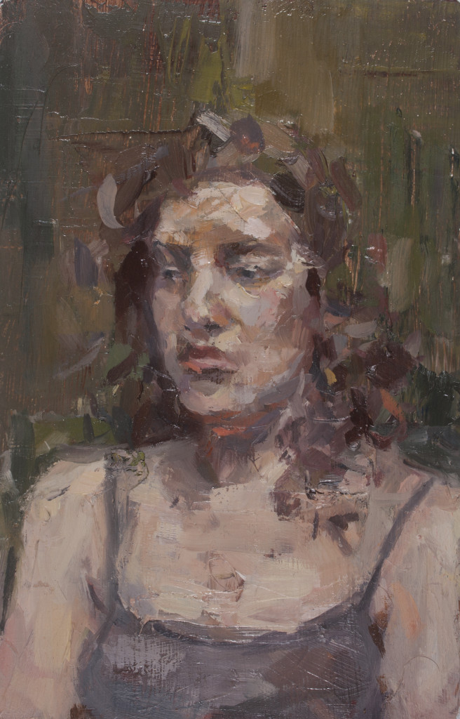 Portrait of a Sitter © Catherine Graffam