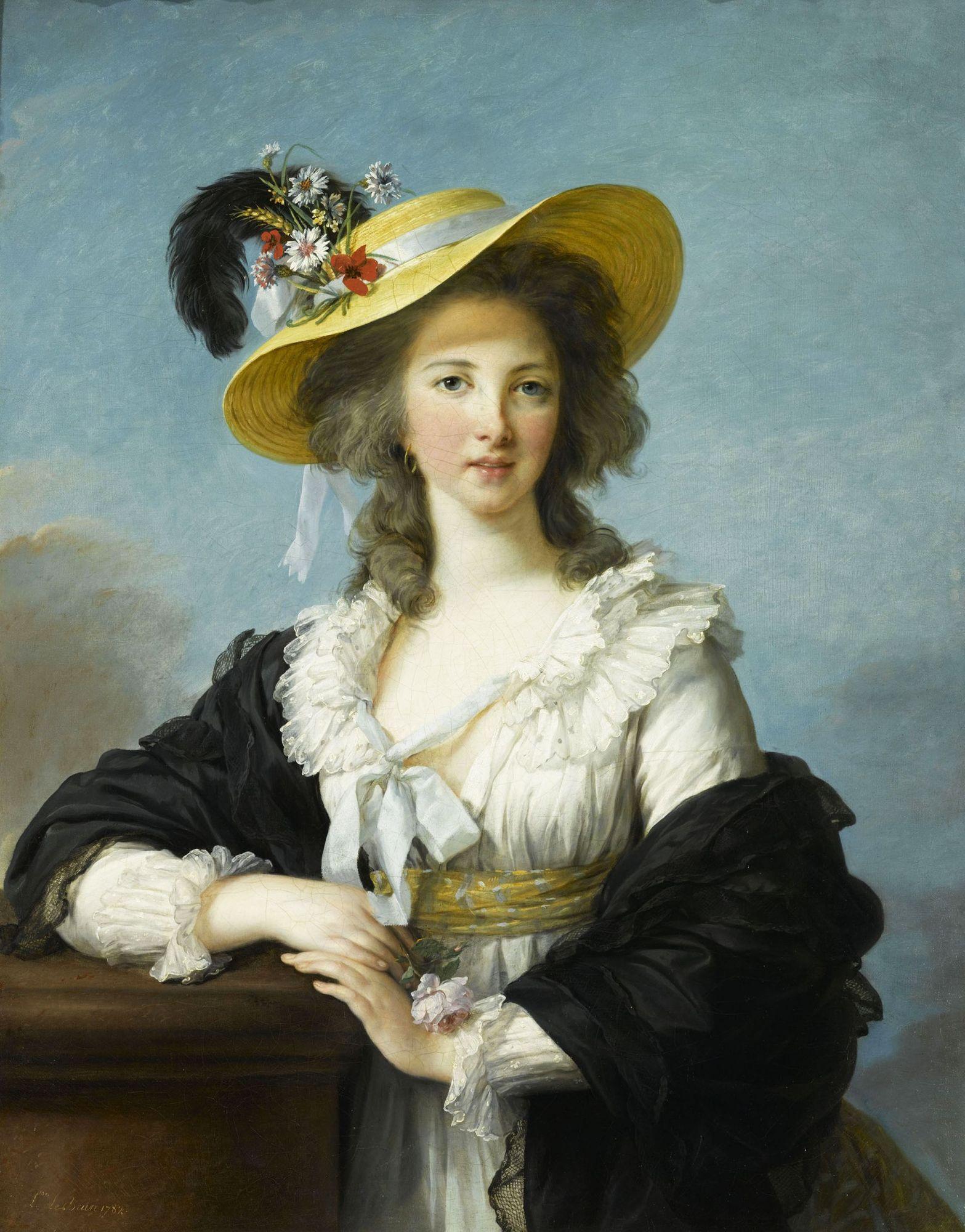 Portrait de la duchesse de Polignac, par Élisabeth Vigée Le Brun (1782)