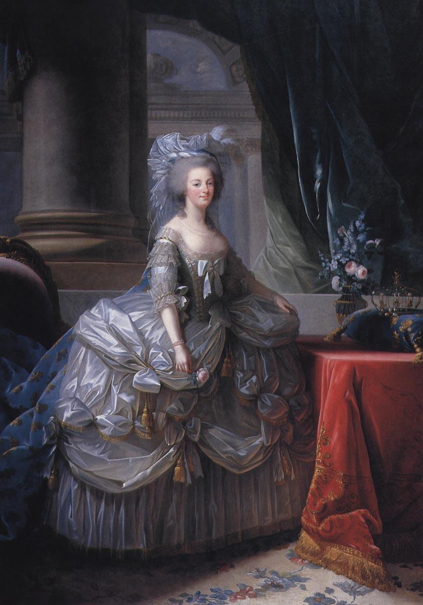 Marie Antoinette d'Autriche, Reine de France (1755-1793), par Élisabeth Vigée Le Brun (1783)