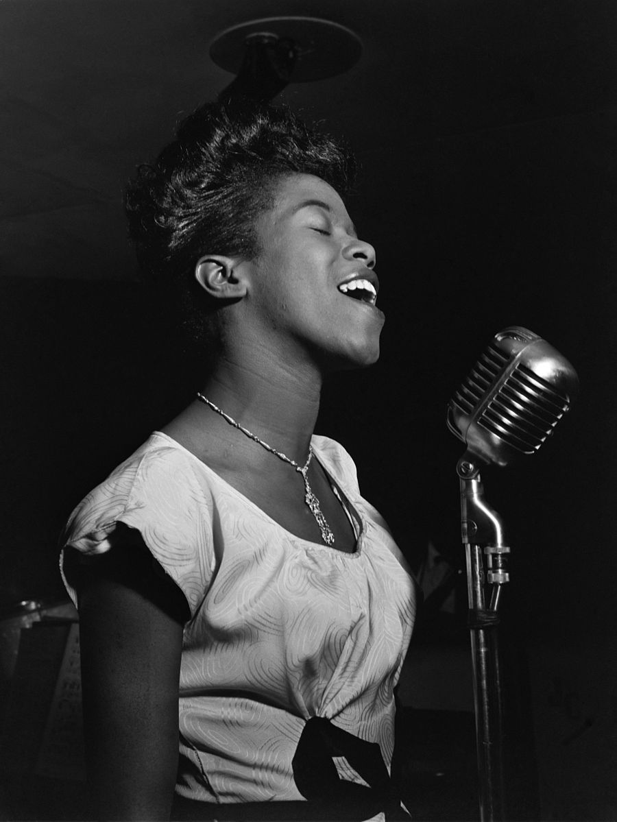 Sarah Vaughan, par William P. Gottlieb, 1946 ©