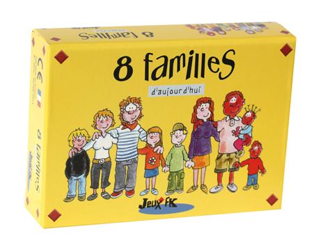 Huit familles d'Aujourd'hui, édité par Jeux JFK