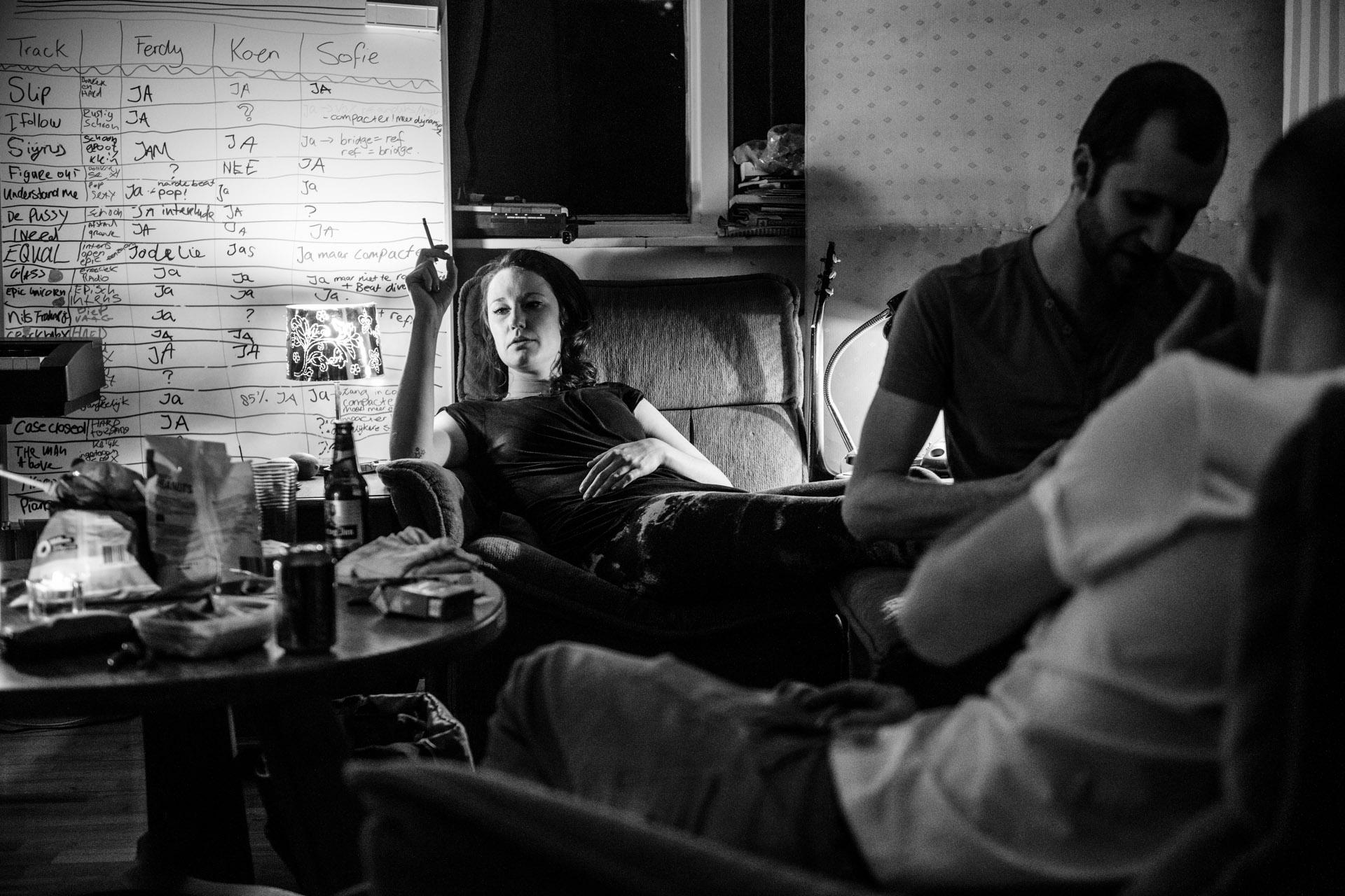 Sofie Letitre en studio ©