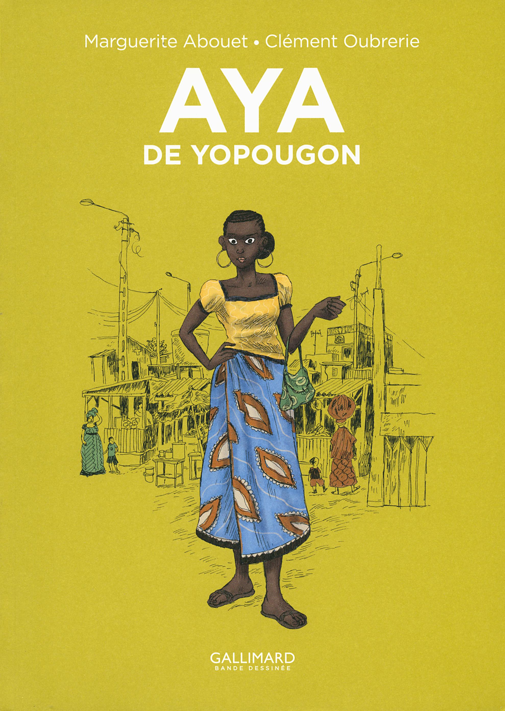 Aya de Yopougon, Édition spéciale 10 ans, Tome1 Couverture du livre