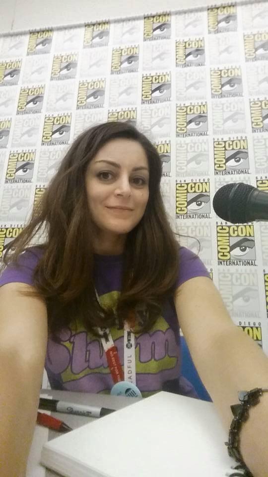 Selfie de circonstance au Comic-Con de San Diego 2015 © Rebecca Cohen