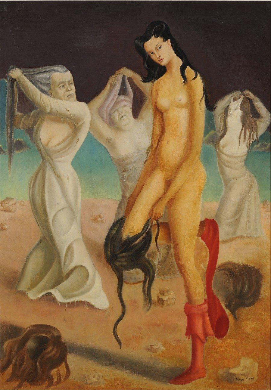 L'entracte de l'apothéose, Leonor Fini, huile sur toile, 1936