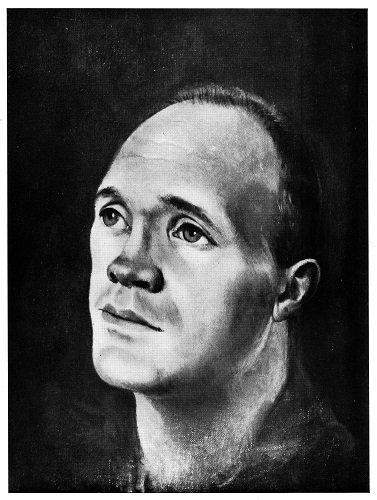 Portrait de Jean Genet par Leonor Fini, huile sur toile, 1950