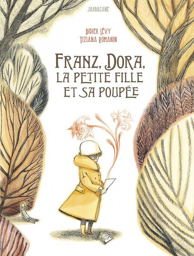 Franz, Dora, la petite fille et sa poupée Couverture du livre