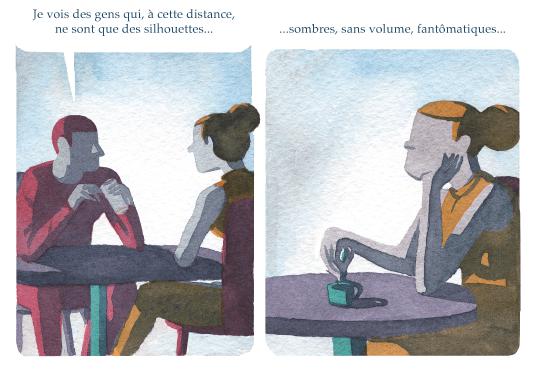 Les Spectateurs, de Victor Hussenot, Gallimard © 2016