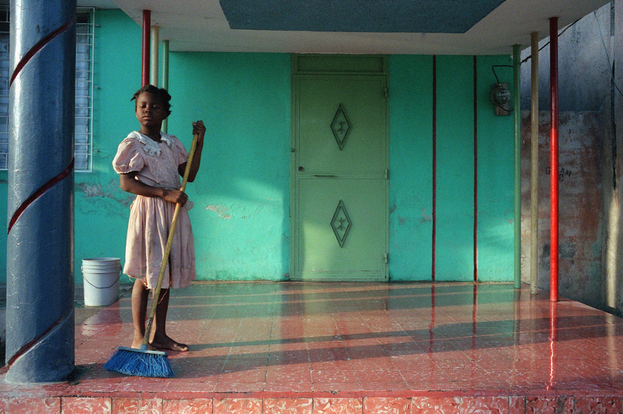 Gonaïves, une ville déŽvastŽée par l'ouragan Jeanne en Septembre 2004, situé en Haiti © Jane Evelyn Atwood