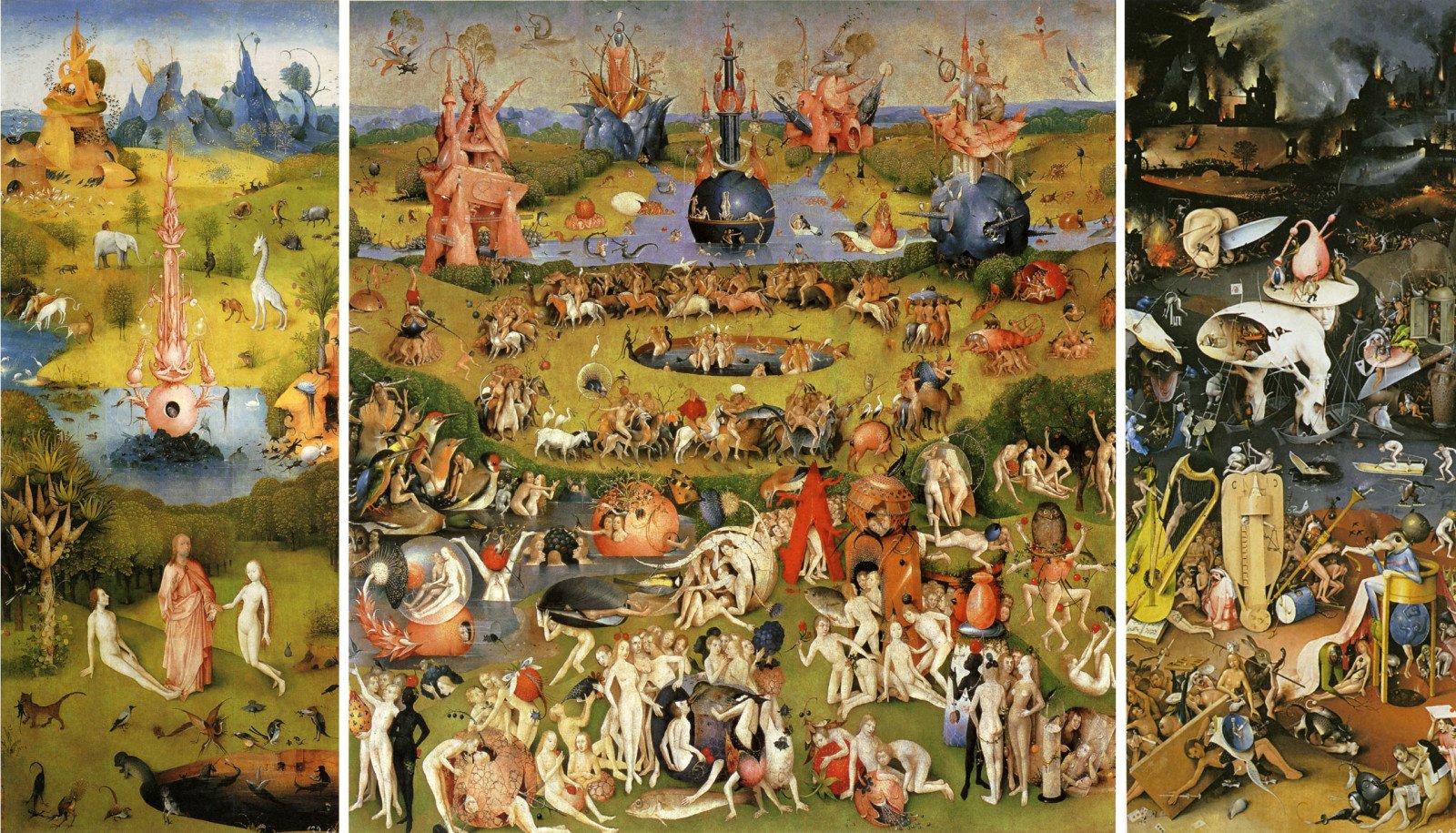 Le Jardin des délices, Jérome Bosch, 1504