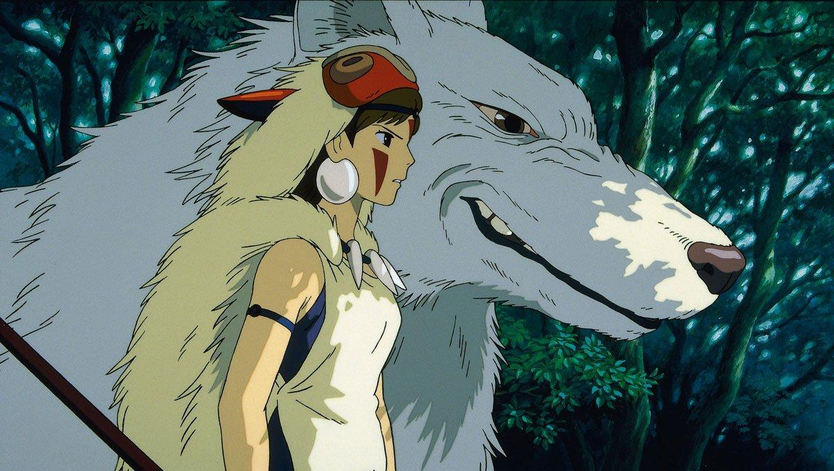Princess Mononoke, réalisé par Hayao Miyazaki, 2001