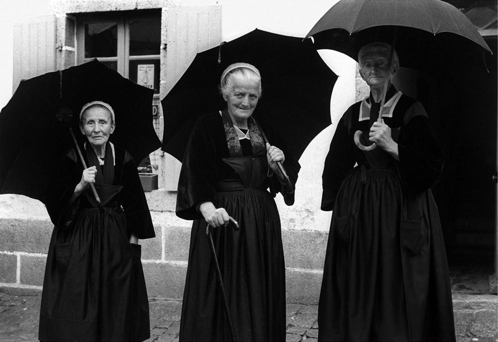 Brittany, 1954 © Sabine Weiss