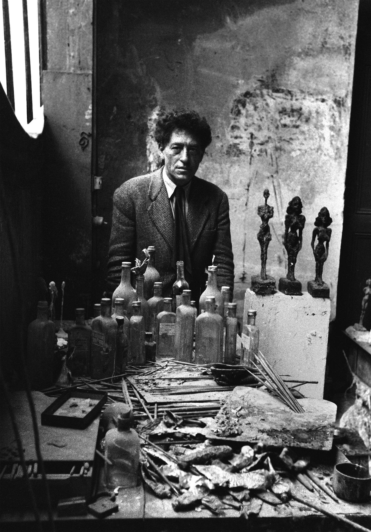 Giacometti, 1954 © Sabine Weiss