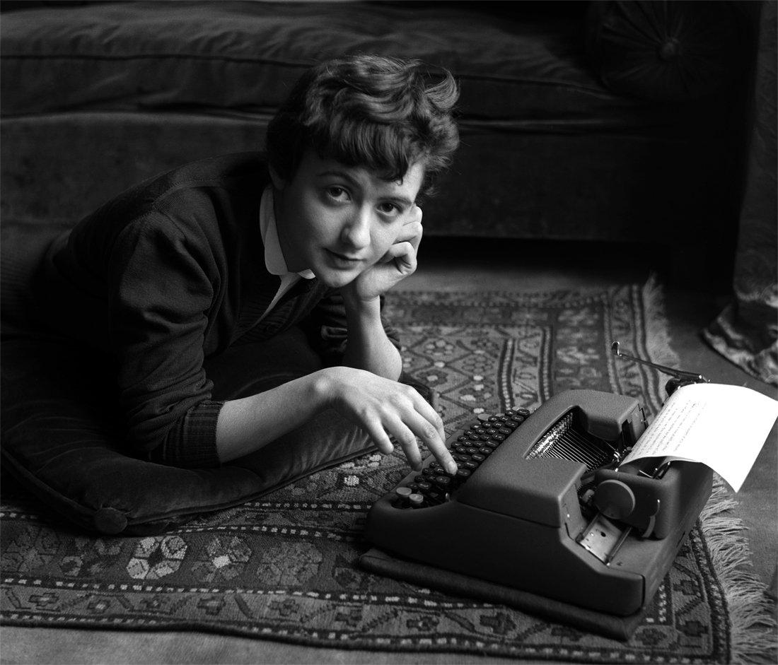Françoise Sagan, 1954 © Sabine Weiss