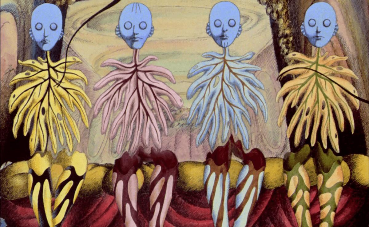 La Planète Sauvage, réalisé par René Laloux, 1973