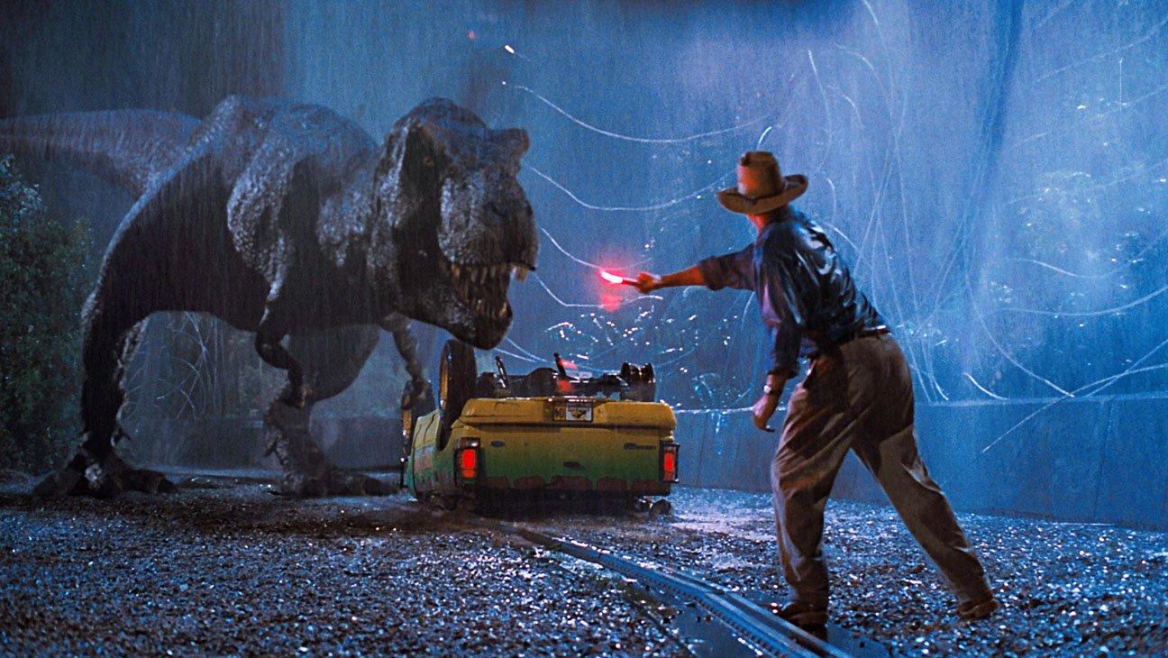 Jurassic Park, réalisé par Steven Spielberg, 1993. © Universal