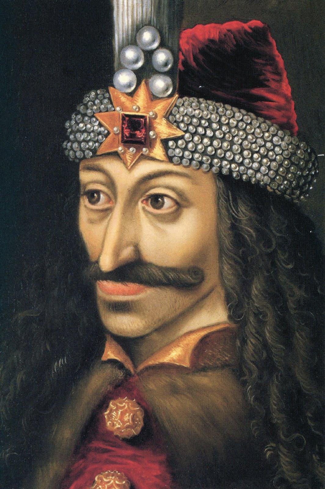 Vlad III l'Empaleur, portrait du xve siècle (château d'Ambras).