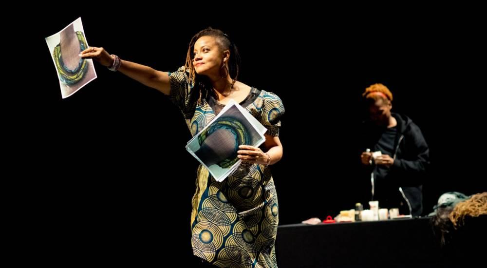 Performance de Ketty Noel et Eva Doumbia lors du festival Massilia Afropéa © Caroline Dutrey
