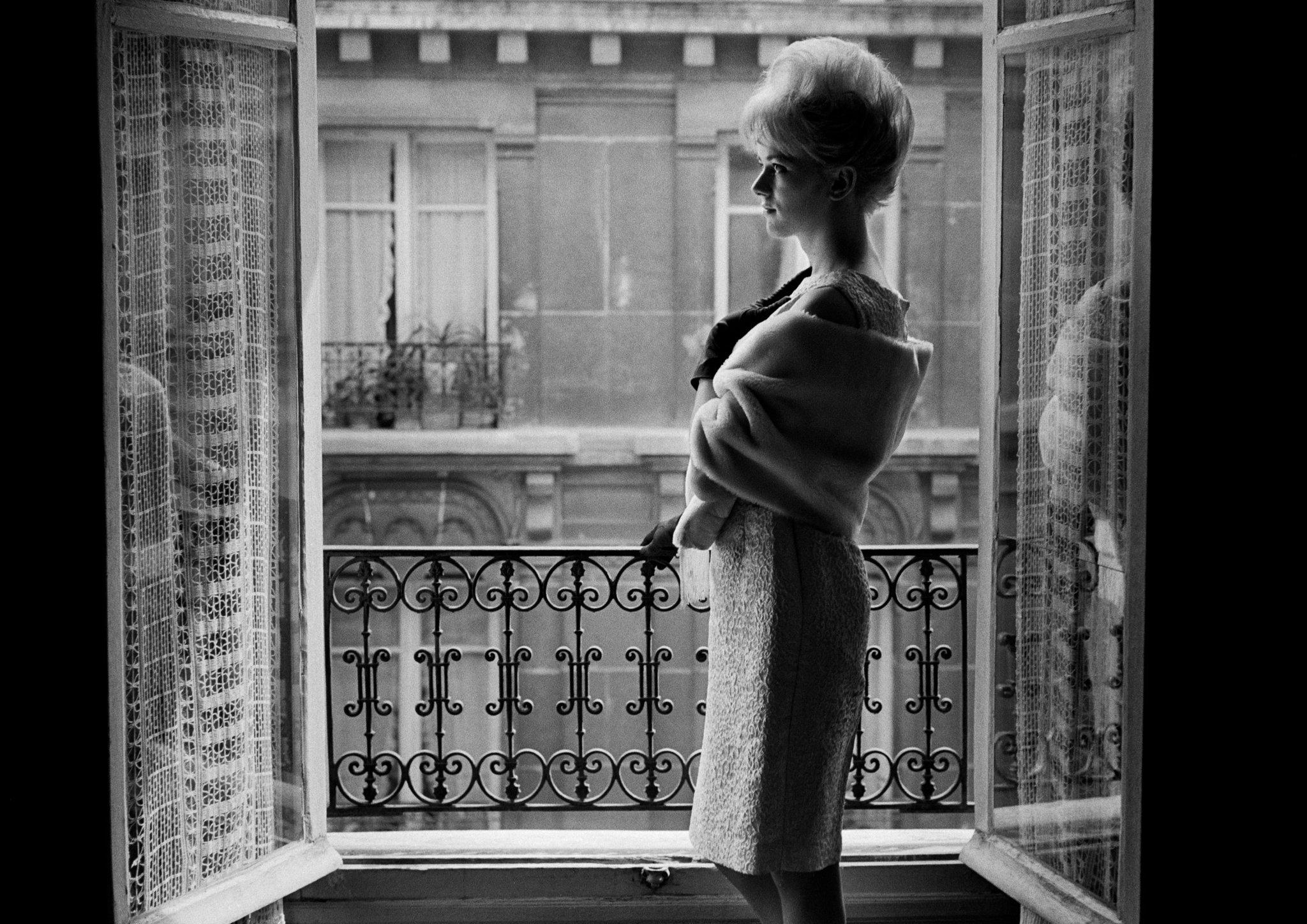 Mimosa à l'Hôtel Pierrots. Paris, 1963. © Christer Strömholm Estate/Agence VU