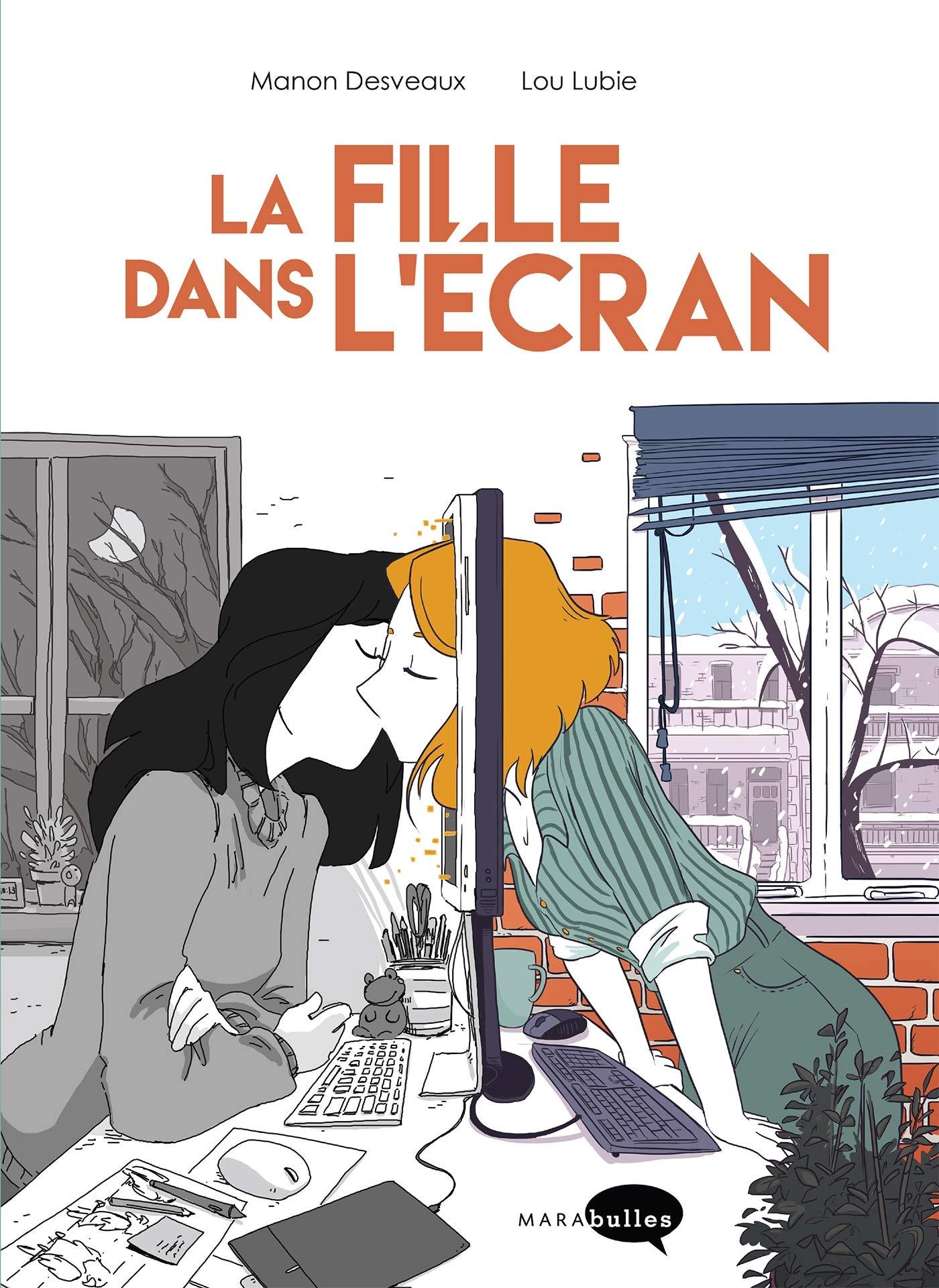 La fille dans l'écran Couverture du livre